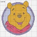 faccia di  winnie pooh - LA3273 Pooh - Let's Be Friends - Circled Pooh-winnie6-jpg