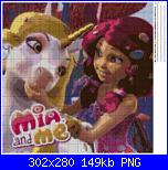 Mia and Me schema cartone animato-cuscino-mia-me-png