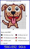 cagnolino stilizzato per segnalibro-punto-croce-cagnolino-004-jpg