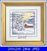 MINIATURE NATALIZIE  -  Permin of Copenhagen-2001-jpg