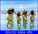 quadro stile hawaiano-hula-dancers-hawaii-john-yato-jpg