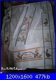 Schemi girasoli per asciugapiatti-ausciugapiatti-papere-jpg