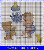 schema Bimbo/a per fiocco nascita in pdf-menino-com-mamadeira-jpg