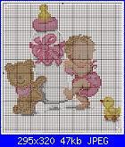 schema Bimbo/a per fiocco nascita in pdf-menina-com-mamadeira-jpg