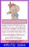 Schemi per fiocco nascita-welcome-maria-jpg