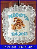 Consigli acquisti online tessuti e passamanerie-coccarda-nascita-per-nicola-jpg