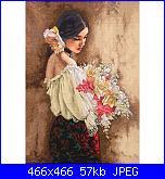Cerco Woman with Bouquet - Dimensions 70-35274-dimensions-gold-cross-stitch-kit-woman-bouquet-d-20130312160650003%7E7128346w_alt1-jpg