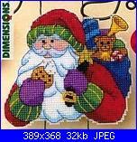 babbo Natale Dimensions 8654 - Santa's snack greeting-8b40b978c3403169213004f01fcbbd0f-jpg