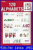 Club Point de Croix - Leisure Arts cerco-la-2633-120-alphabets-jpg