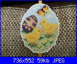 Uova di pasqua con pulcini su tela aida plastificata-62c84c33c36b4678ce6d5d37b3a02989-jpg