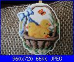 Uova di pasqua con pulcini su tela aida plastificata-ce505695077e7181719fa27d4180611a-jpg
