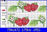 Schema fragole e ciliegie per asciugapiatti-fragola-jpg