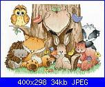 Cerco DMC Home Is Where The Heart Is - Woodland Folk-6e830c21057bde80f2f7edbec1d3d401-jpg