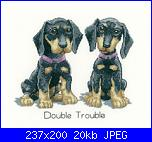 Cerco schema Heritage Crafts HC1086 Peter Underhill ~ It's A Dog's Life ~ Double Trou-heritagecrafts0hc1086peterunderhillitsadogslifedoubletrouble2200-jpg