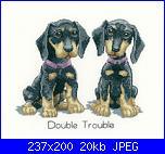 Cerco schema Heritage Crafts HC1086 Peter Underhill ~ It's A Dog's Life ~ Double Trou-heritagecrafts0hc1086peterunderhillitsadogslifedoubletrouble2200-jpg