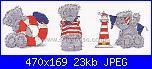 Cerco Tatty Teddy Three LIttle Sailor-bl1077-72-m-jpg