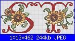 Iniziali con girasoli-s-t_girasole-jpg