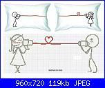 cerco coppia stilizzata con cuori-schema1-jpg