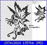 Come rendere leggibile uno schema a bassa risoluzione-schema-punto-croce-fatina-stilizzata-100x127-1-colore-jpg