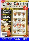"Cerco ""Cross country stitching"" feb 99 e feb 2001-02-99-jpg"