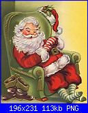 Cerco schema Babbo Natale che dorme-poltrona-notte-png