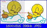 Baby looney tunes nuvole e stelle-1563783906416-jpg