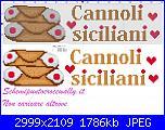 schemi sicilia-asciugapiatti-cannoli-siciliani-schema-punto-croce-gratis-jpg