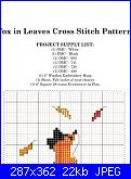 schema volpe-fox-leaves-fall-cross-stitch-pattern-preview-600x600-jpg