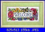 cerco schema Welcome-welcom-con-fiori-jpg