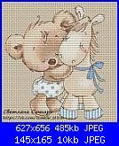Orsetta con Cavallino-svetlana-sichkar-bear-donkey-jpg