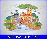 Winnie The Pooh - Disney D177-Fun on the bridge-cimg0025-jpg