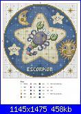 Schema segno SCORPIONE adatta x gemelli (maschio-femmina)-scorpione-3-jpg