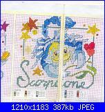 Schema segno SCORPIONE adatta x gemelli (maschio-femmina)-scorpione-jpg