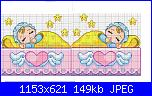 Per le mie 2 nipotine, schema 2 bimbe dormendo-gemelline-jpg