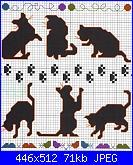 Sciarpina con gatti-gatti_sagome-jpg