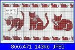 Sciarpina con gatti-18257692-jpg