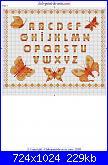 richiesta schemi club punto croce-farfalla-dorata_2-001-jpg