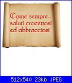 Schema My Melody-saluti-pergamena-jpg