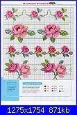 Trousse in raso rosa e schema di Gesu'-roselline001-jpg