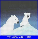 cerco schemi orso polare-umka-png