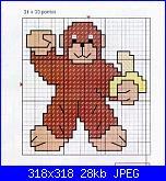 Cerco scimmietta-scimmia-con-banana-jpg
