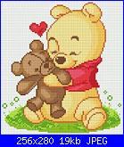 """Schema """"Winnie The Pooh con l'orsacchiotto""""-vinni_puh-jpg"""