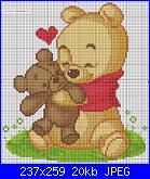 """Schema """"Winnie The Pooh con l'orsacchiotto""""-vinni_puh_color_-11-jpg"""