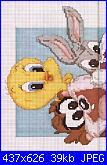 cerco baby looney a punto croce-looney-tunes-jpg
