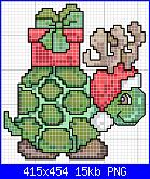 schemi natalizi-tortuga_navidad-png