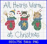 Schemi natalizi con vincitrice-gatti-png