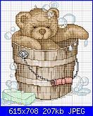 I miei primi schemi per voi-la-saturday-nigth-bath-jpg