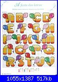 Alfabeto punto croce + punto scritto incompleto-baloes-jpg