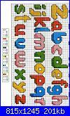 Alfabeto punto croce + punto scritto incompleto-parte-um-1-jpg
