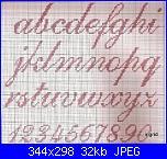 Alfabeto punto croce + punto scritto incompleto-alfas-172-jpg